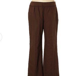 Oscar Bu Oscar De Le Renta size 14 linen pants